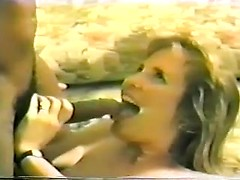 Retro interracial is full of passion as the white girl cums on his black dick over and over